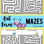 Ant Farm Mazes