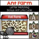 Ant Farm Letter Matching