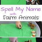 Spell My Name With Farm Animals