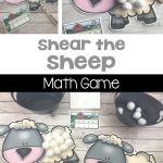 Sheer the Sheep Fine Motor Math Game