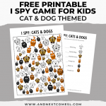 I Spy Cats and Dogs Activity