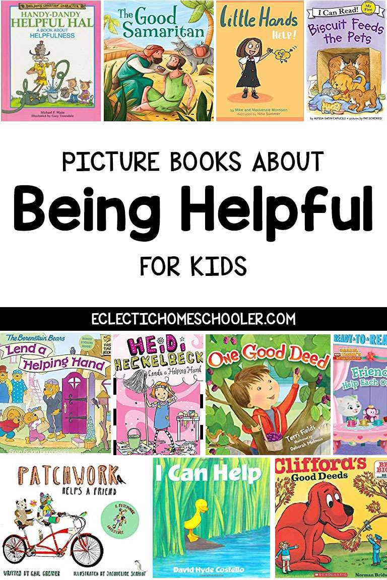 Picture Books About Being Helpful for Kids