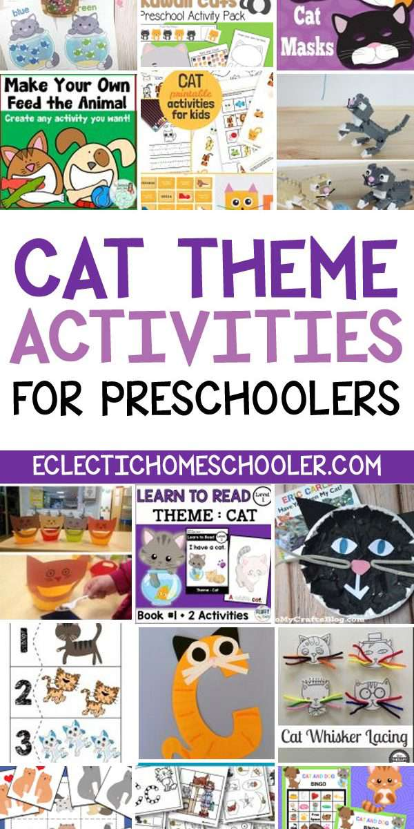 Cat Activities for Kids