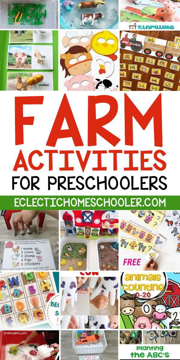 Farm Preschool Activities
