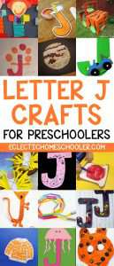 Letter J Crafts for Preschoolers