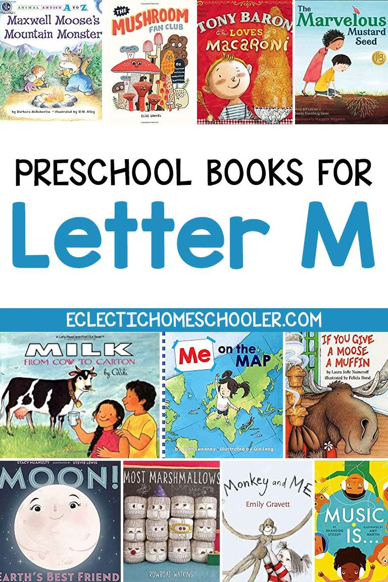 Letter M Books for Preschool