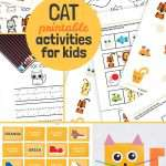 Printable Cat Activities and Crafts