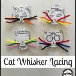 Cat Whisker Lacing Activity