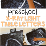 X-ray Light Table Letter Writing Tray