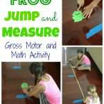 Frog Jump and Measure Gross Motor Activity