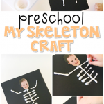 My Skeleton Q-Tip Craft