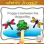 Where's Froggy? Following Directions With Positional Concepts Activity