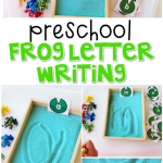 Frog Letter Writing