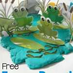 Frog Pond Play Dough Printables