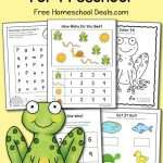 Preschool Pond Printables