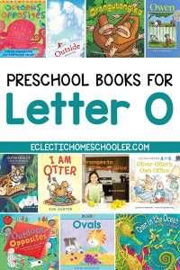 Letter O Books for Preschoolers