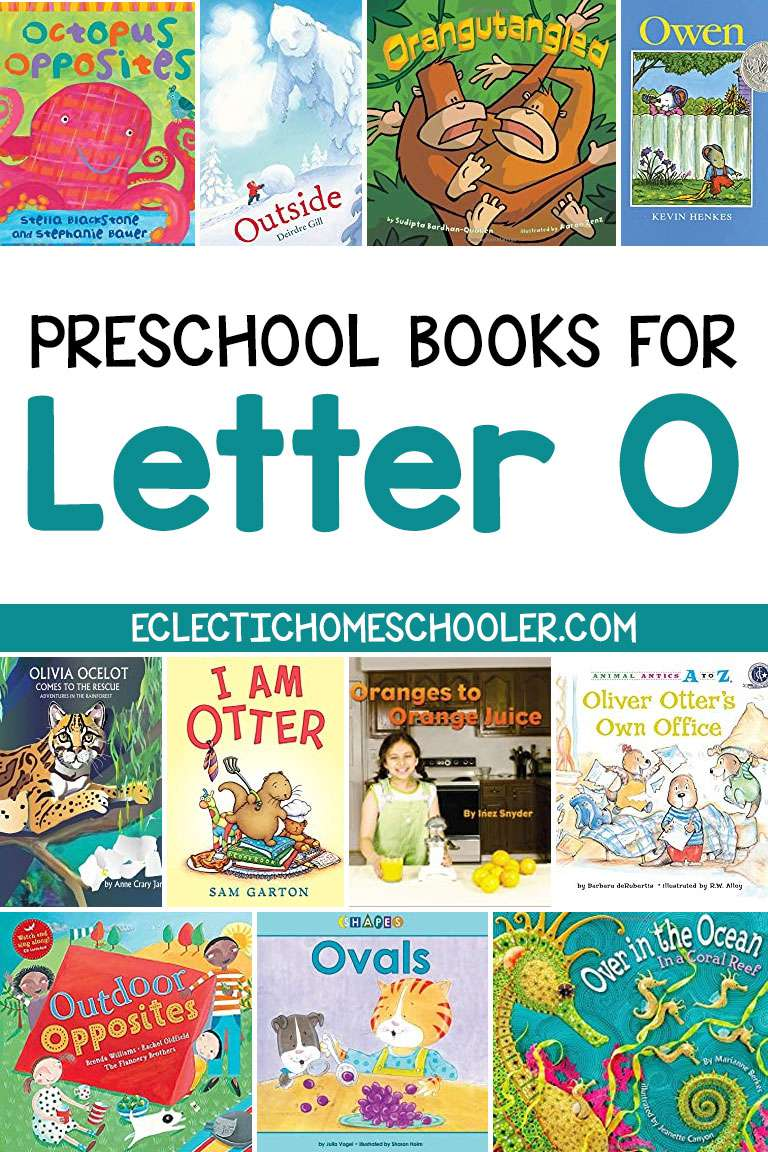 Letter O Books for Preschoolers