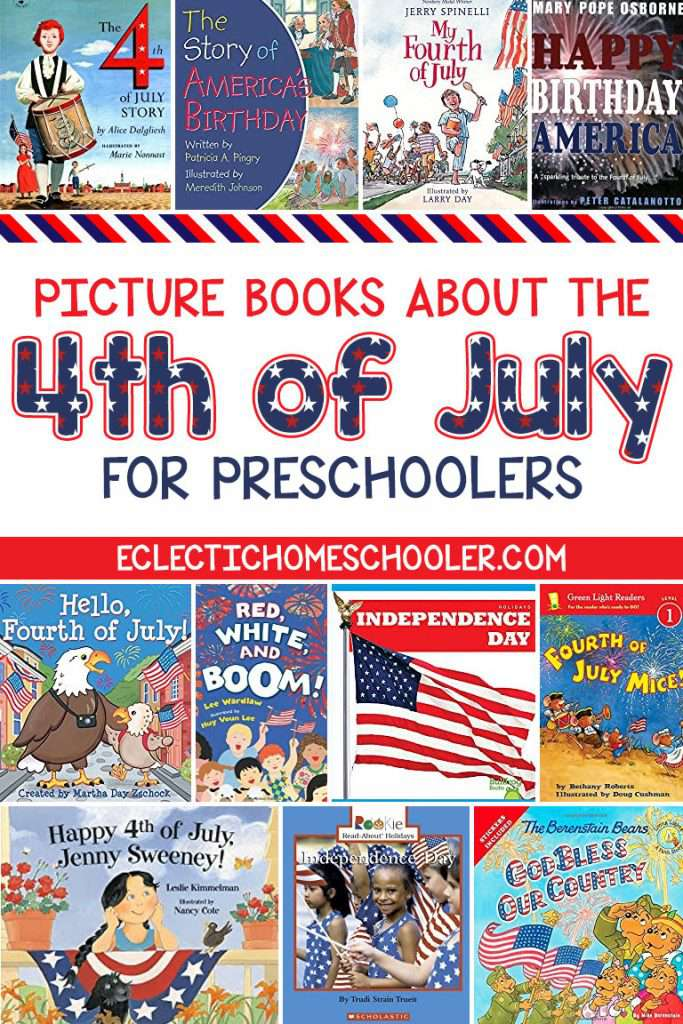 4th of July Books for Preschoolers to Read About Independence Day