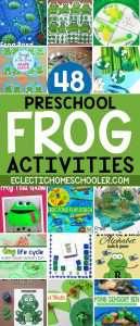 Frog Activities for Preschool