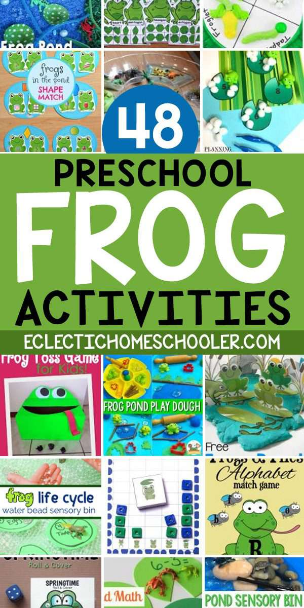Frog Activities for Preschool