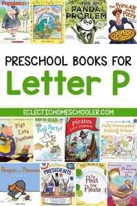 Letter P Books