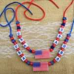 USA Necklace Craft Bead Kit