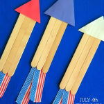 4th of July Fireworks Rocket Craft