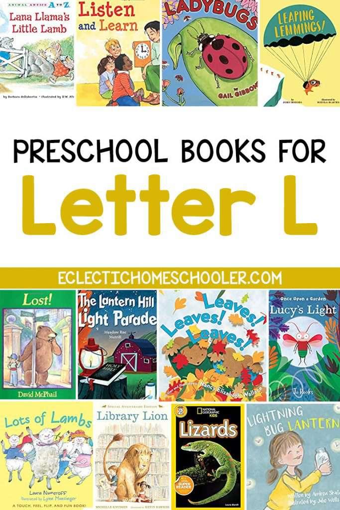 Letter L Books